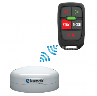 WR10 Autopilot remote and base station